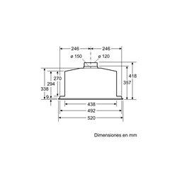 Grupo filtrante Bosch DHL585B