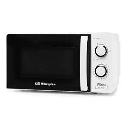 Microondas Orbegozo MI 2115  sin grill 20L  mecanico  blanco