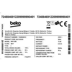 Frigorífico Beko BU1153HCN 1 puerta, 82x60, A+