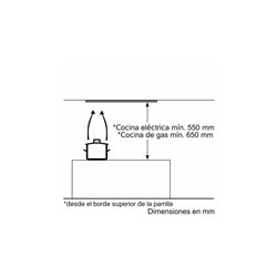 Grupo Filtrante Balay 3BF263NX, 53cm, inox